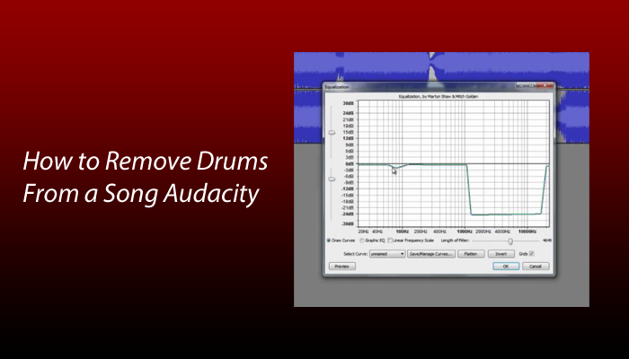 How to Remove Drums From a Song Audacity