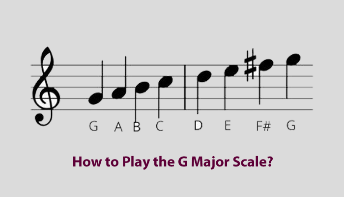 How to Play the G Major Scale